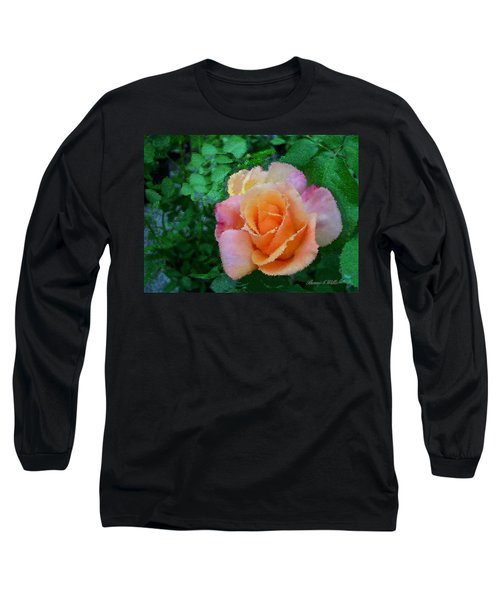 Long Sleeve T-Shirt featuring the photograph Rose by Bonnie Willis