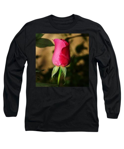 Rose Bud Long Sleeve T-Shirt by Anthony Jones