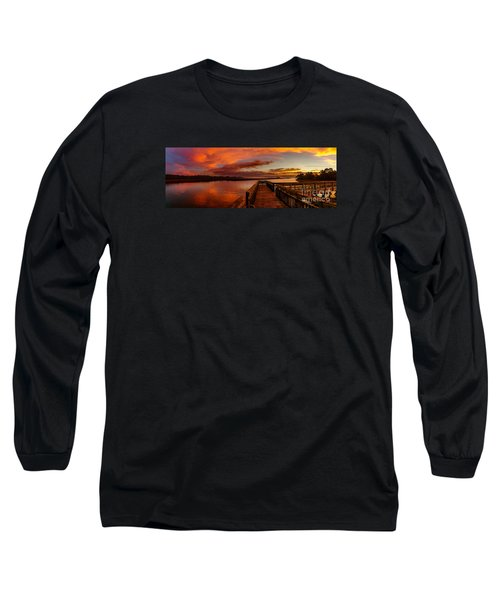 Rose Colored Classes Long Sleeve T-Shirt by David Smith
