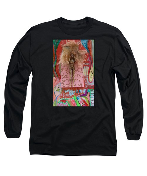 Rose Herbal Tincture Long Sleeve T-Shirt by Clarity Artists