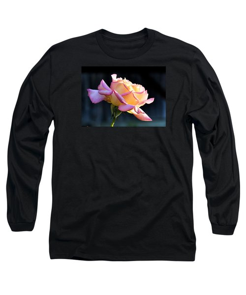 Rose In Sunshine Long Sleeve T-Shirt