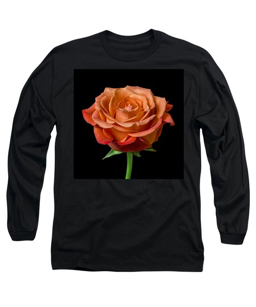 Long Sleeve T-Shirt featuring the photograph Rose by Jim Hughes