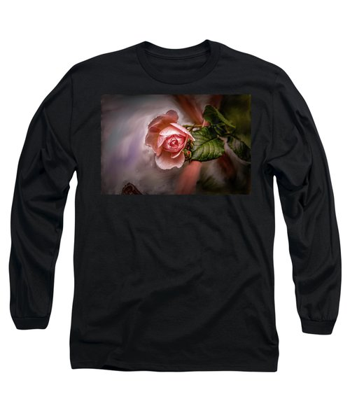 Rose On Paint #g5 Long Sleeve T-Shirt