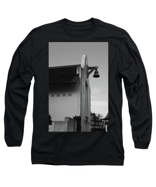 Rosemary Beach Post Office In Black And White Long Sleeve T-Shirt