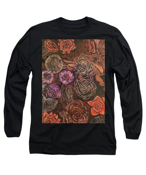 Roses In Time Long Sleeve T-Shirt