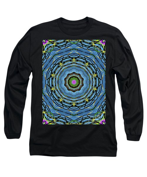 Round And Round  Long Sleeve T-Shirt by Christy Ricafrente