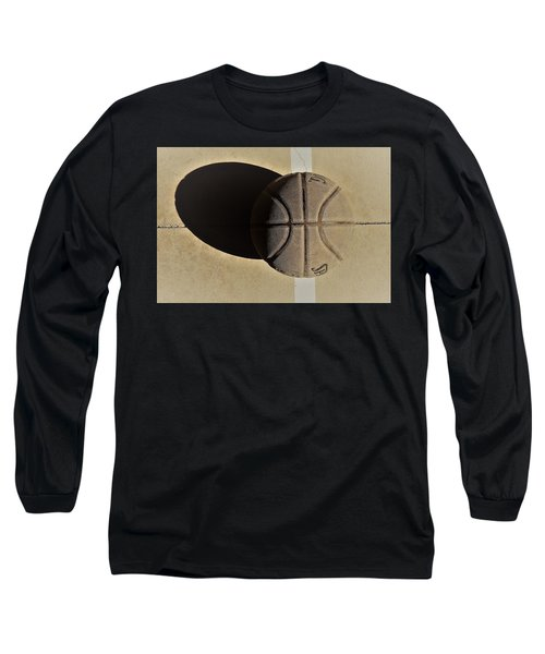 Round Ball And Shadow Long Sleeve T-Shirt