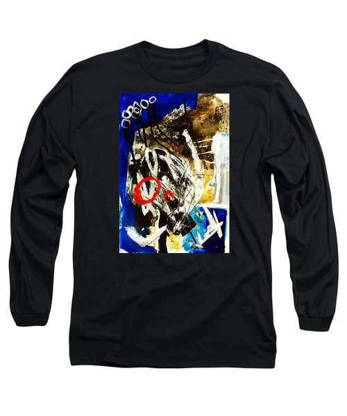 Long Sleeve T-Shirt featuring the painting Round II by Helen Syron