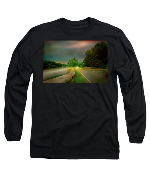 Long Sleeve T-Shirt featuring the photograph Round The Bend by Diana Angstadt