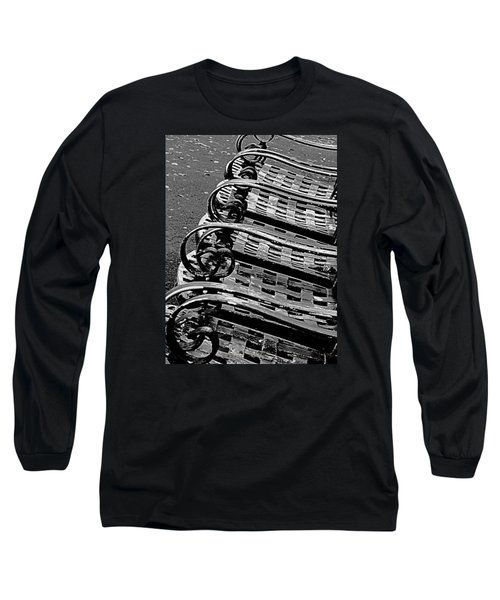 Row Of Chairs Long Sleeve T-Shirt