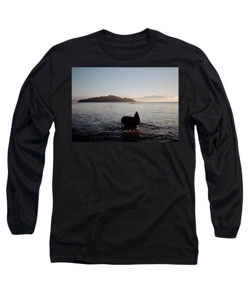 Rowing Off Sausalito, Ca Long Sleeve T-Shirt