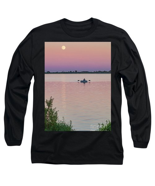 Rowing To The Moon Long Sleeve T-Shirt