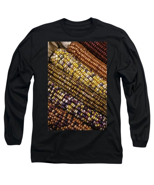 Rows Of Indian Corn Long Sleeve T-Shirt
