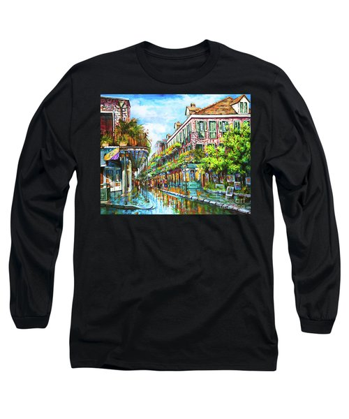 Royal At Pere Antoine Alley, New Orleans French Quarter Long Sleeve T-Shirt