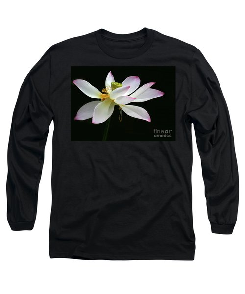 Royal Lotus Long Sleeve T-Shirt