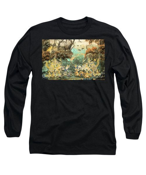 Royal Palace Ramayana 15 Long Sleeve T-Shirt