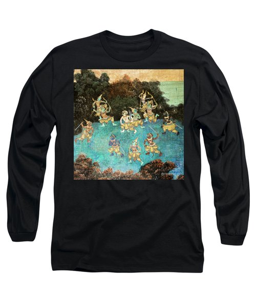 Royal Palace Ramayana 16 Long Sleeve T-Shirt