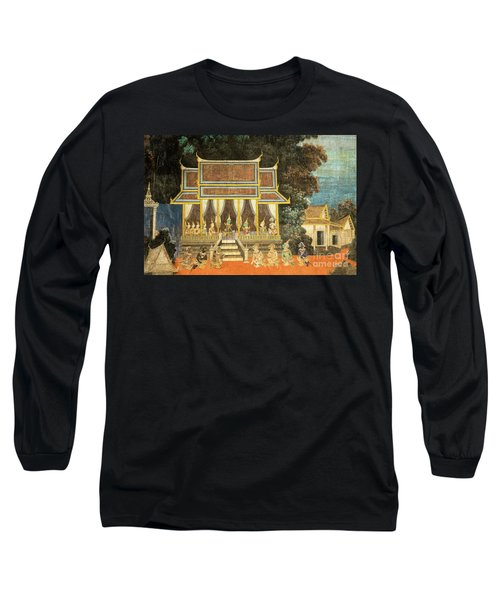 Royal Palace Ramayana 18 Long Sleeve T-Shirt