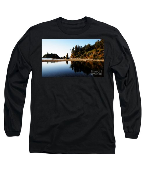 Ruby Beach Reflections Long Sleeve T-Shirt