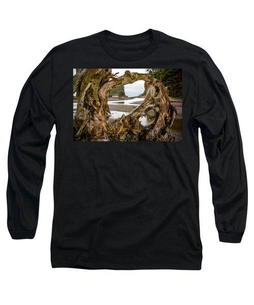 Ruby Beach Driftwood 2007 Long Sleeve T-Shirt