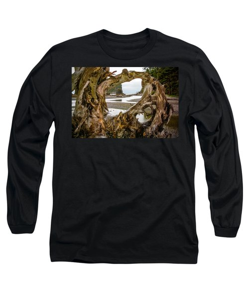 Ruby Beach Driftwood 2007 Long Sleeve T-Shirt