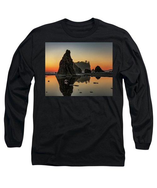 Ruby Beach At Sunset Long Sleeve T-Shirt