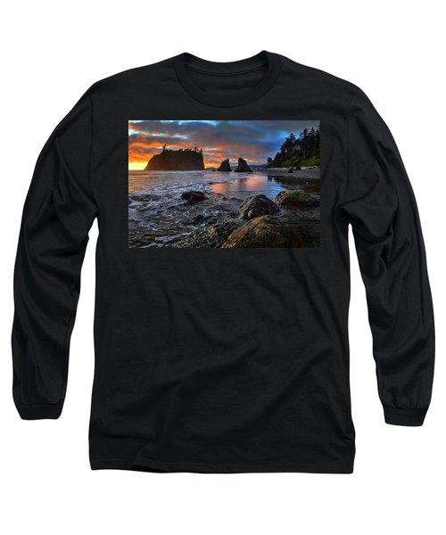 Ruby In The Rough At Sunset Long Sleeve T-Shirt