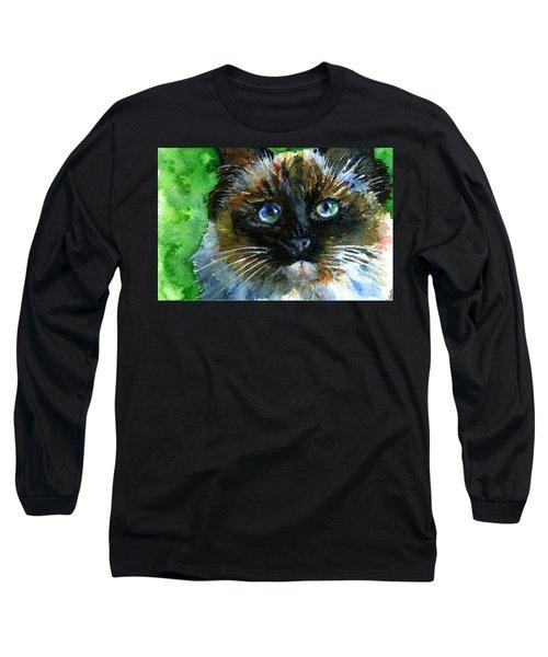 Ruffian II Long Sleeve T-Shirt by John D Benson