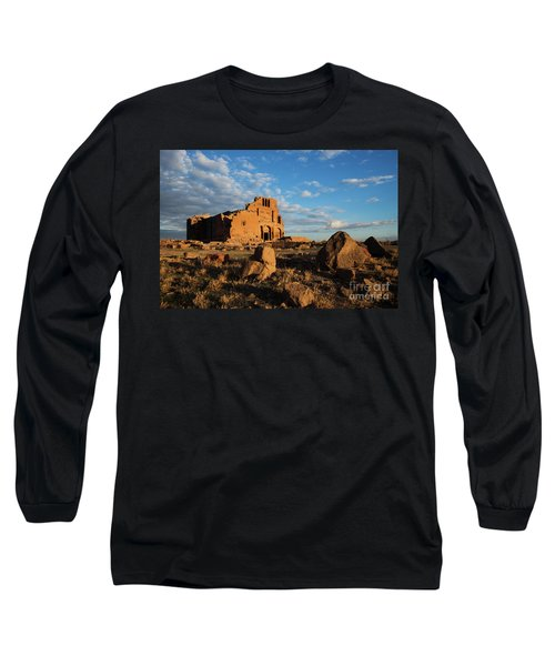 Ruins Of Yereruyk Temple Under Amazing Cloudscape, Armenia Long Sleeve T-Shirt