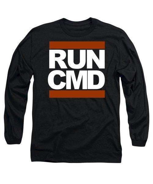 Run Cmd Long Sleeve T-Shirt
