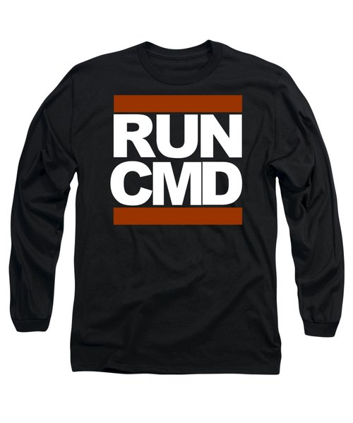 Run Cmd Long Sleeve T-Shirt