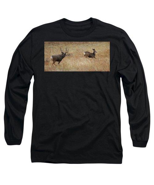 Run Long Sleeve T-Shirt by Rowana Ray