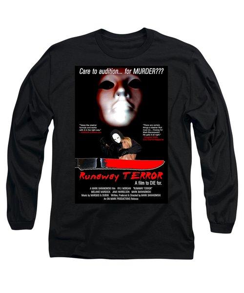 Runaway Terror Poster Long Sleeve T-Shirt