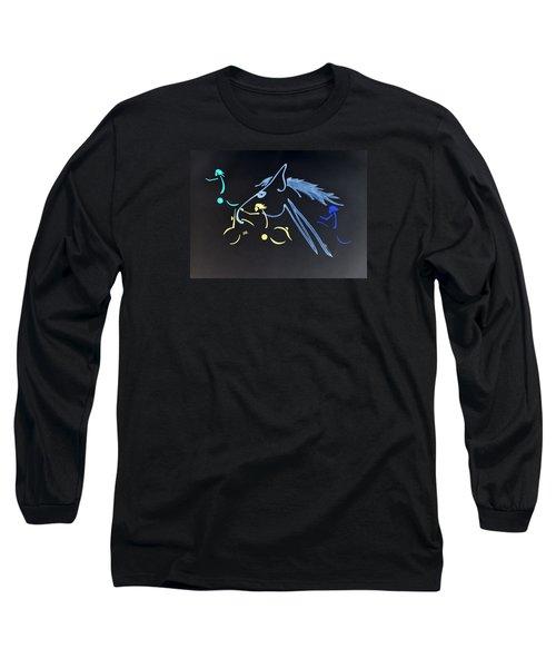 Running Free - Night Run Long Sleeve T-Shirt