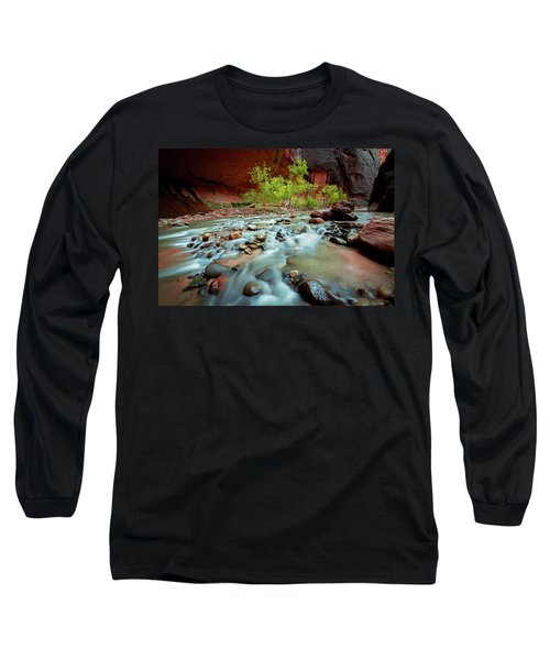 Rush At Narrows Long Sleeve T-Shirt