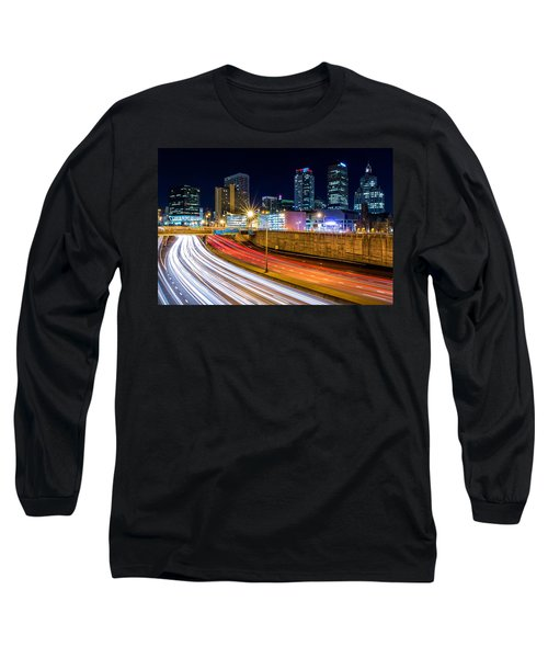 Rush Hour In Hartford, Ct Long Sleeve T-Shirt