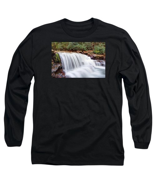 Long Sleeve T-Shirt featuring the photograph Rushing Waters Of Decker Creek by Gene Walls