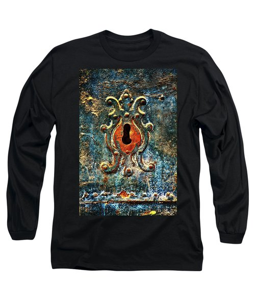 Rusted Door Keyhole In Spain Long Sleeve T-Shirt