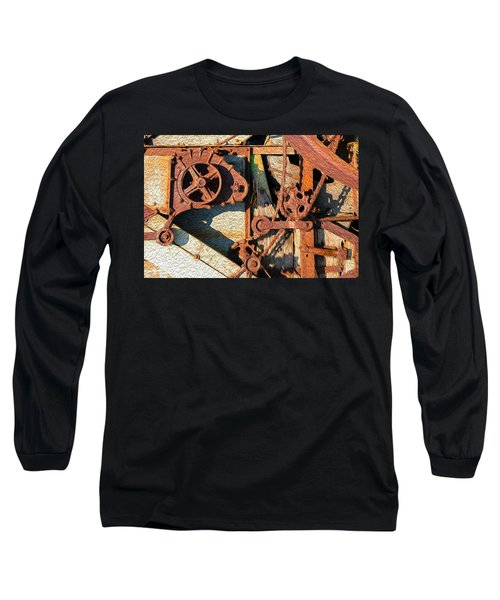 Rusted Reaction Long Sleeve T-Shirt