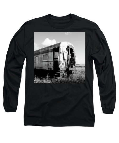 Rusting On The Rails Long Sleeve T-Shirt