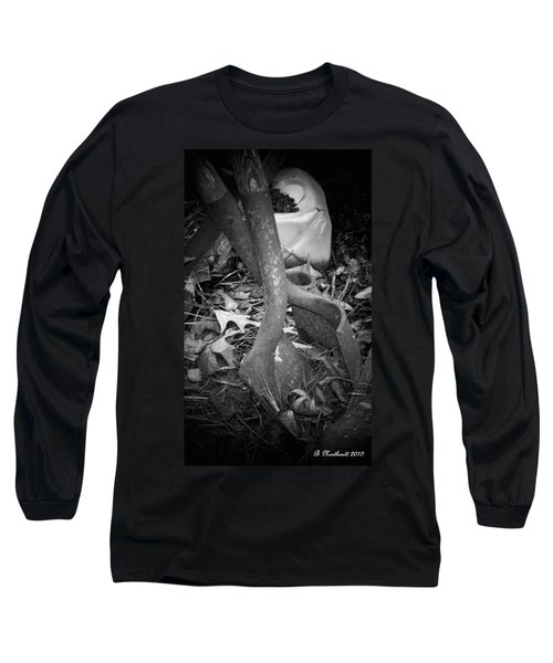 Long Sleeve T-Shirt featuring the photograph Rusty Embrace by Betty Northcutt
