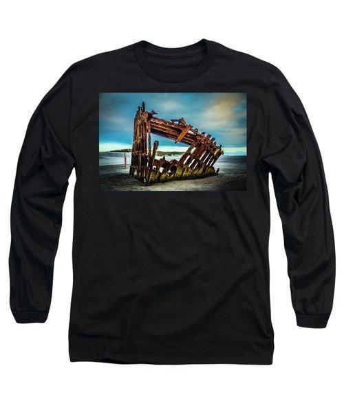 Rusty Forgotten Shipwreck Long Sleeve T-Shirt