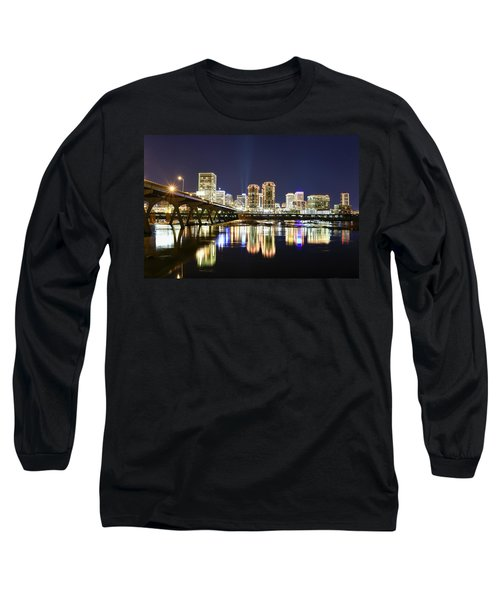Rva Night Lights Long Sleeve T-Shirt
