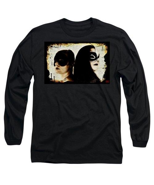 Ryli And Corinne 1 Long Sleeve T-Shirt by Mark Baranowski