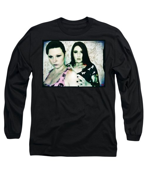 Ryli And Khrist 1 Long Sleeve T-Shirt by Mark Baranowski