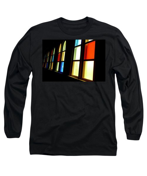 Ryman Stained Glass  Long Sleeve T-Shirt
