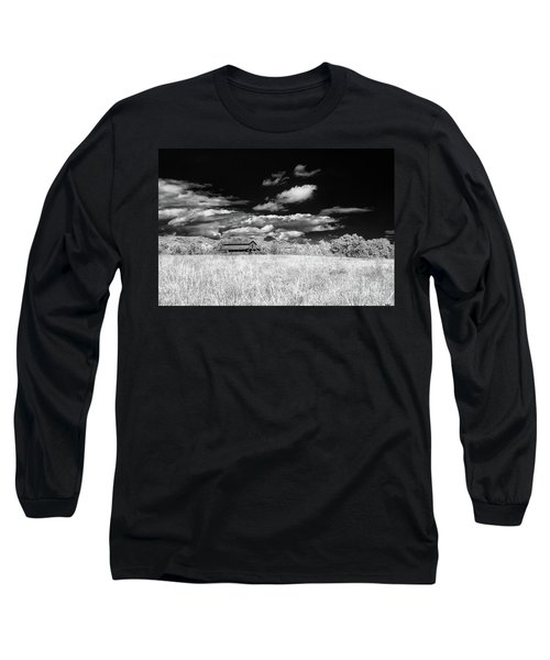 S C Upstate Barn Bw Long Sleeve T-Shirt