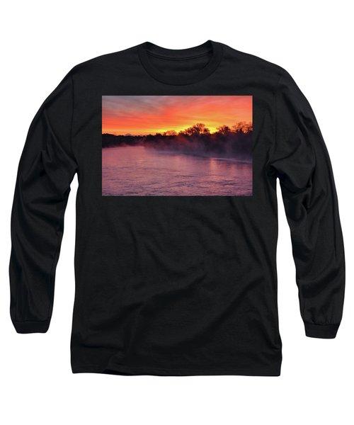 Sacramento River Sunrise Long Sleeve T-Shirt