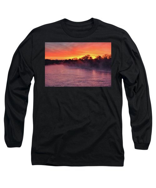 Sacramento River Sunrise Long Sleeve T-Shirt