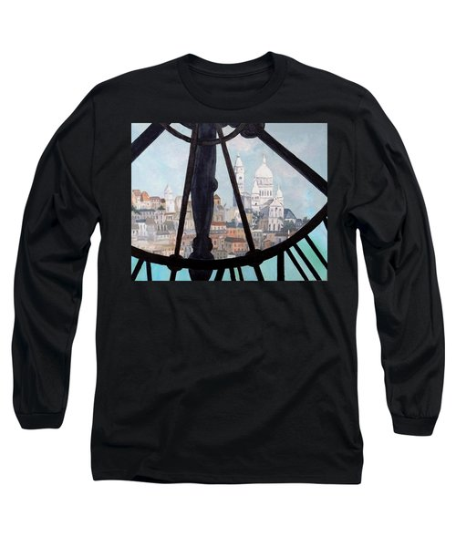Sacre Coeur From Musee D'orsay Long Sleeve T-Shirt by Diane Arlitt